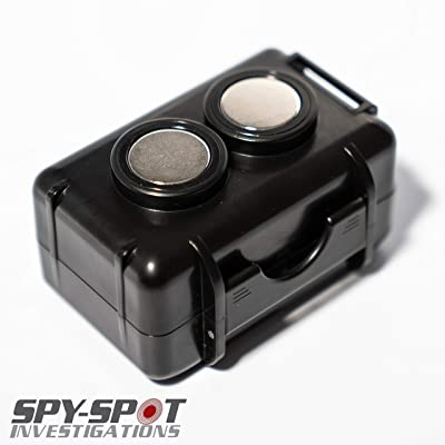 Spy Spot Magnetic Weather Proof Case for Mini Portable Real Time GPS Tracker Micro GPS Tracker Enduro-pro Gl 200 Gl 300 STI GL300 GL300W [5Bkhe0809070]