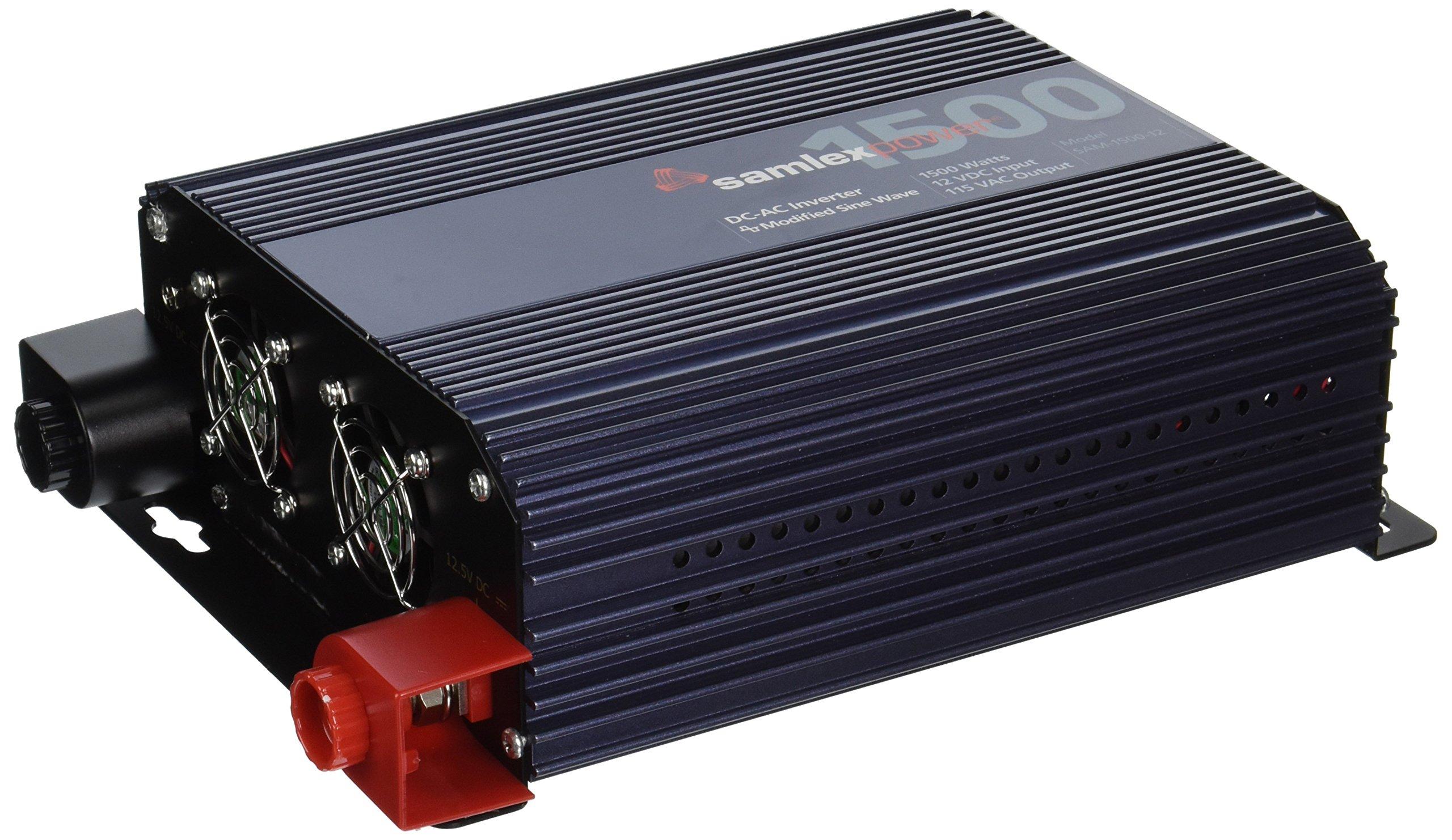 Samlex Solar SAM-1500-12 SAM Series Modified Sine Wave Inverter
