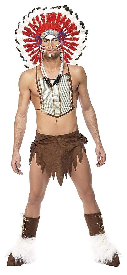 33482c5d9 Smiffy s - Disfraz de indio para hombre