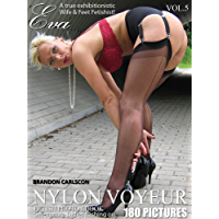 Nylon Voyeur Eva Vol.05: Reife attraktive Damen zeigen Ihre Reize Foto-eBook (German Edition)