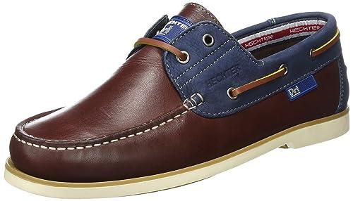 Daniel Hechter 821136021015, Mocasines para Hombre, Rojo (Bordo/Dark Blue), 40 EU: Amazon.es: Zapatos y complementos