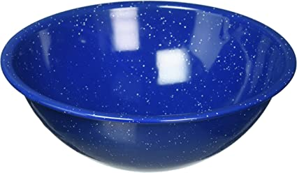 GSI Outdoors Blue Graniteware Mixing//Cereal Bowl 6 Inch