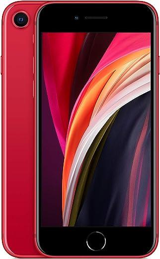 Apple iPhone SE, 64GB, Red - Fully Unlocked (Renewed)