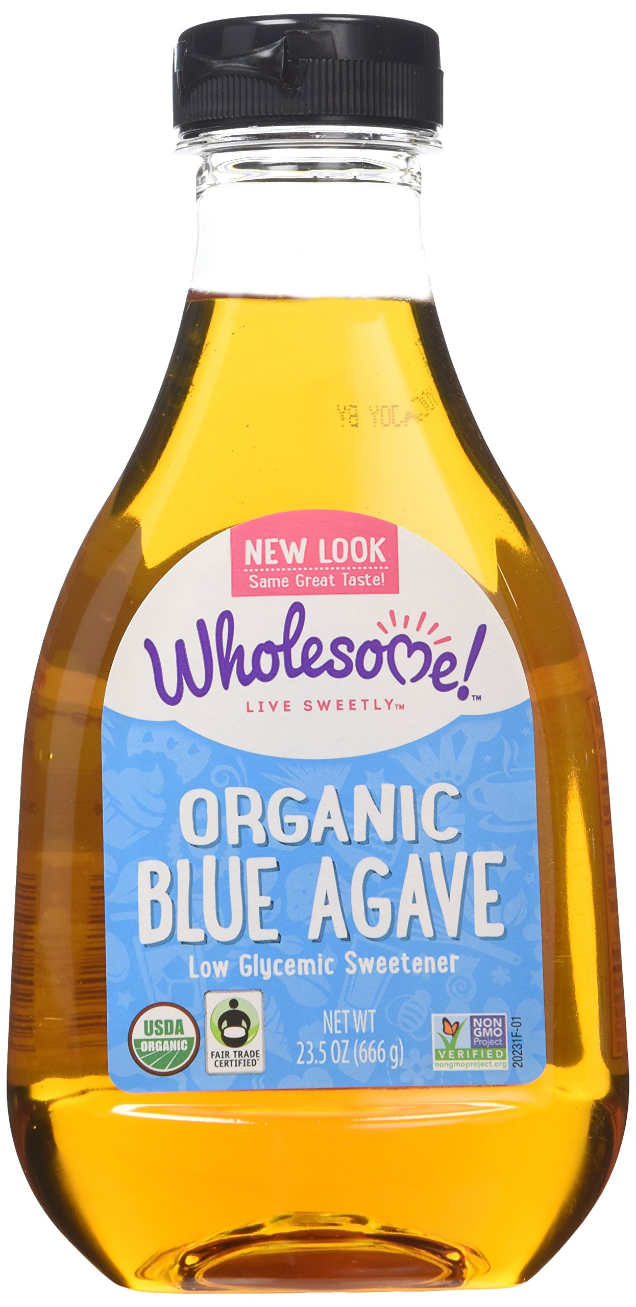 Wholesome Sweetners Organic Blue Agave, 23.5000-ounces (Pack of3)