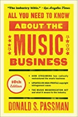 All You Need to Know About the Music Business: 10th Edition Kindle Edition