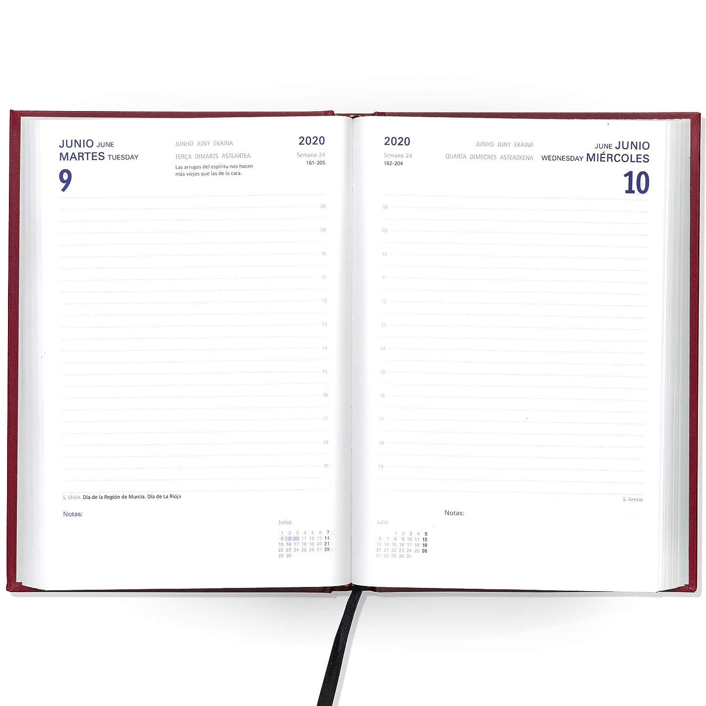 Agenda Bermeo 2020-15 x 21cm (A5) - Bilingüe Español/Ingles ...