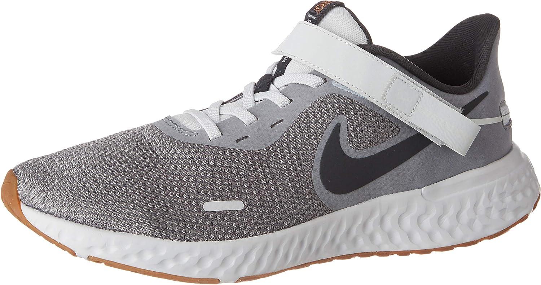Nike Revolution 5 Flyease M, Zapatillas para Correr para Hombre, Grigio Smoke Grey Dk Smoke Grey Photon Dust Mtlc Copper Gum Med Brown, 40 EU: Amazon.es: Zapatos y complementos