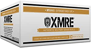 XMRE Meals 1300XT - 6 Case with Heaters (Meal Ready to Eat - Military Grade)