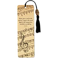 Music Beaded Bookmark