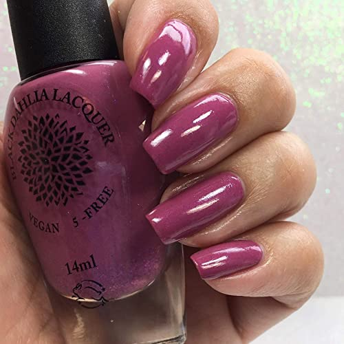 Amazon.com: Blooming Lilac | Orchid Purple Shimmer Nail Polish with ...