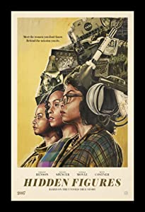 Hidden Figures - 11x17 Framed Movie Poster by Wallspace
