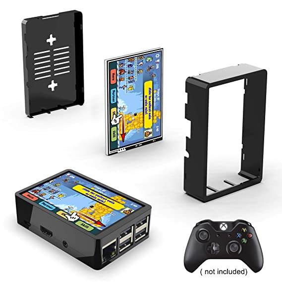 Amazon.com: Para Raspberry Pi 3 B+ / Pi 3, pantalla táctil ...