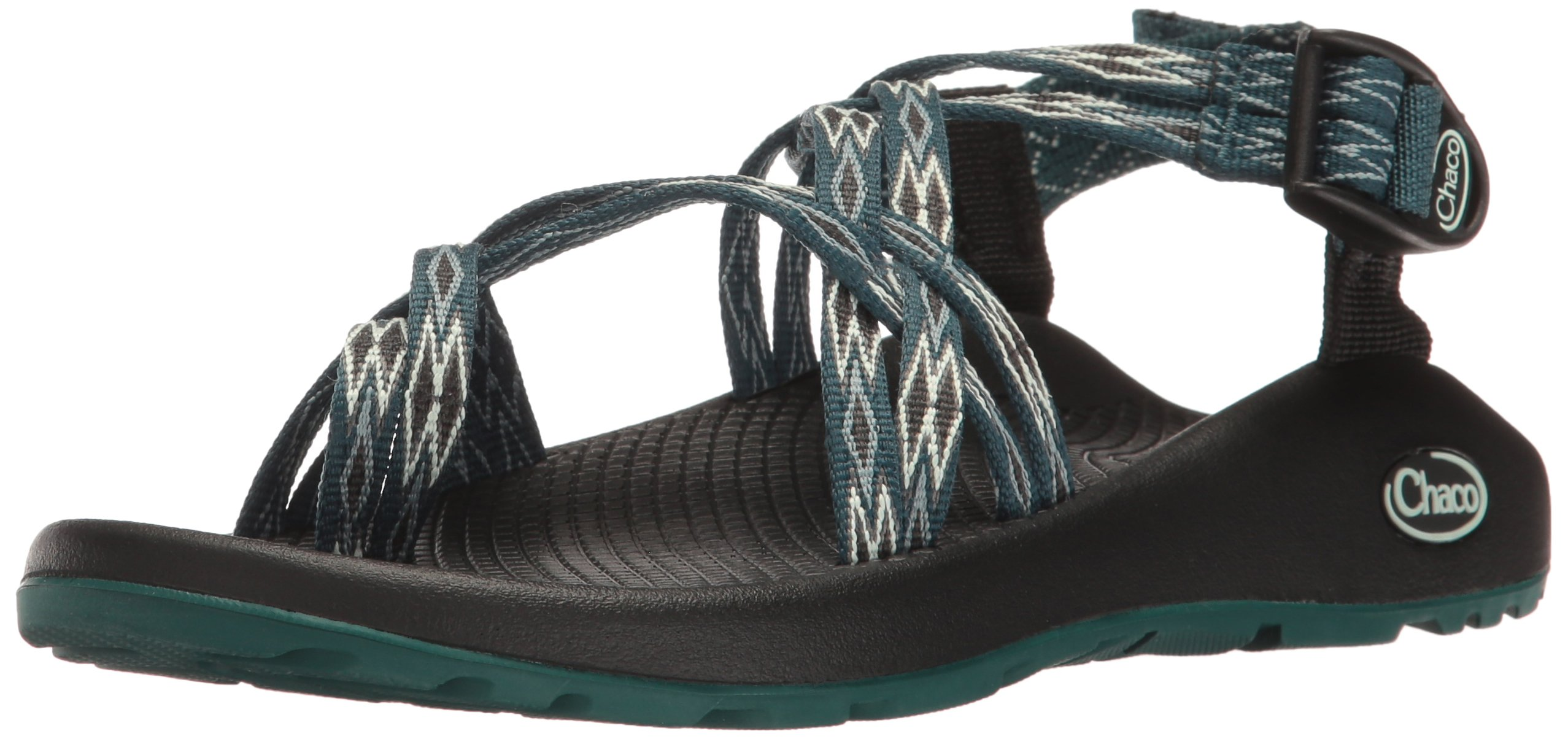 Chaco Women's ZX2 Classic Athletic Sandal, Angular Teal, 8 M US by Chaco