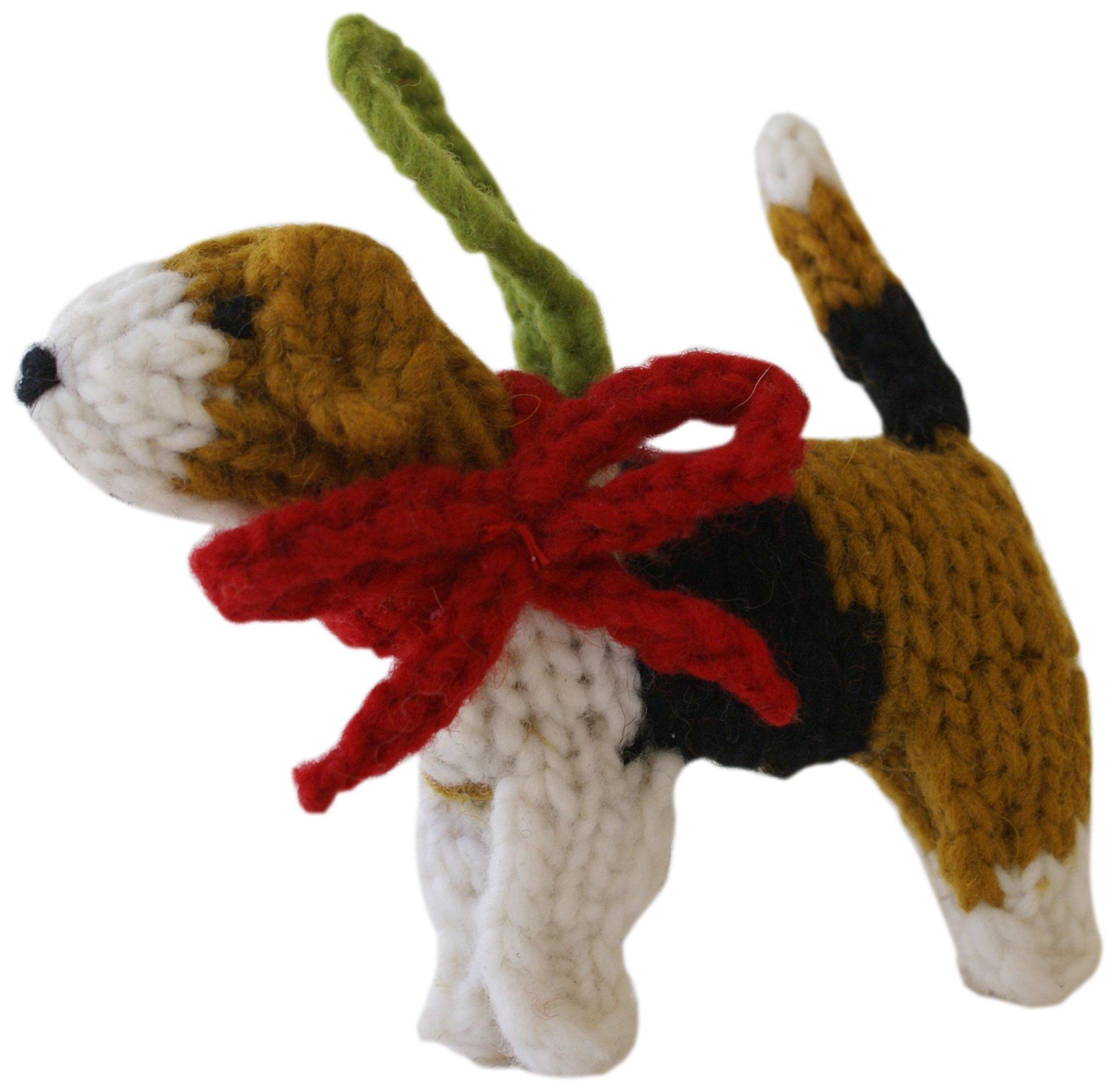 Chilly Dog Beagle Dog Ornament