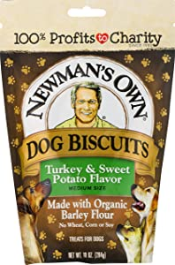 Newman's Own Dog Biscuits, 10-oz. (Pack of 6)
