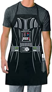 ICUP Star Wars - Darth Vader  Be The Character Adult Size 100% Cotton Adjustable Black Apron