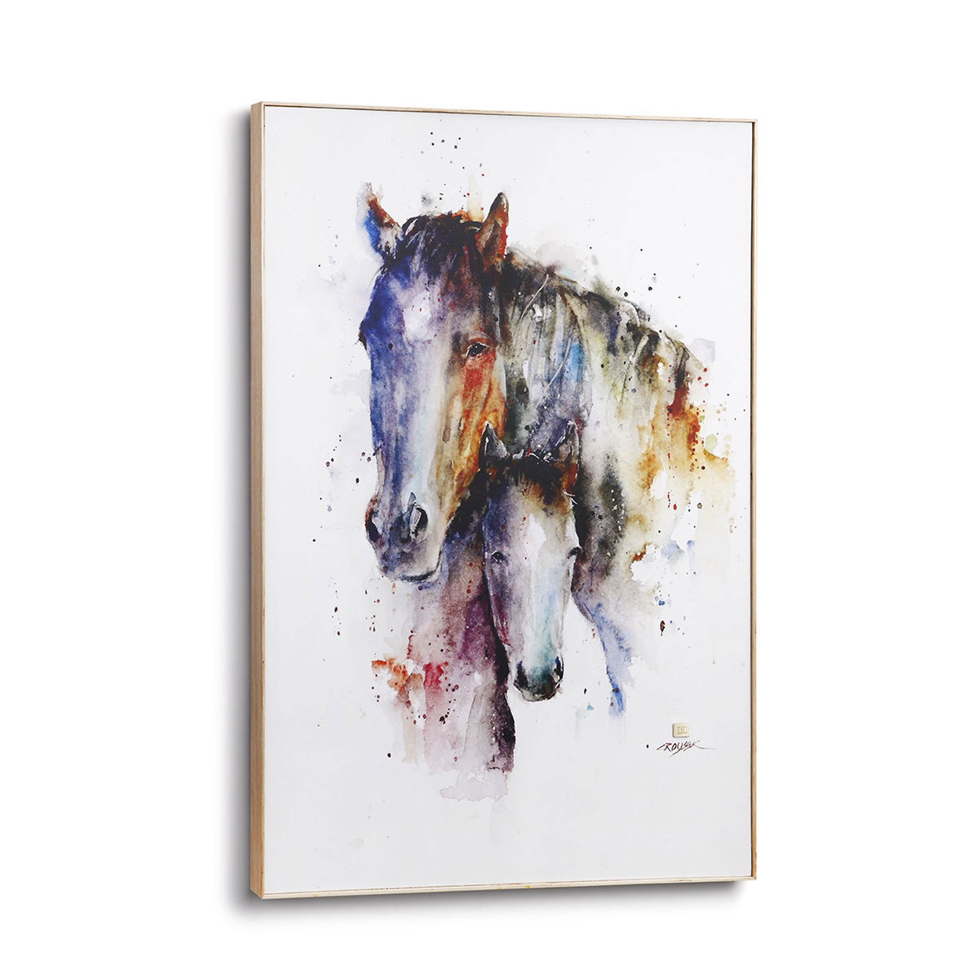 Demdaco Big Sky Carver a Mother's Love Horse Large Wall Art