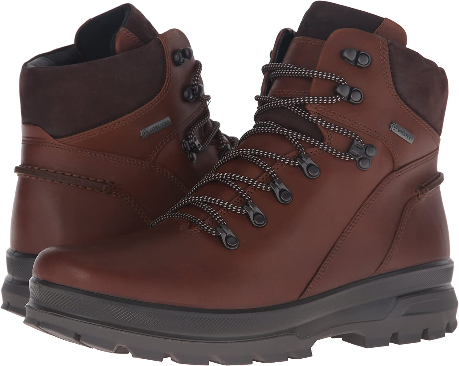 ECCO Mens Rugged Track GTX High Hiking Boot