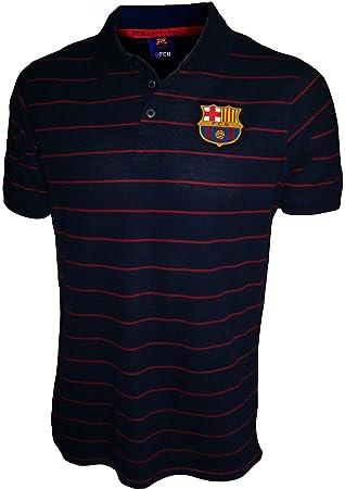 FC Barcelona - Polo oficial para hombre, talla de adulto, Hombre, azul marino