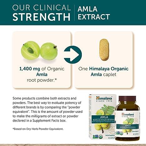 Amazon.com: Himalaya Herbal Amla C - Vitamina C Natural - 60 ...