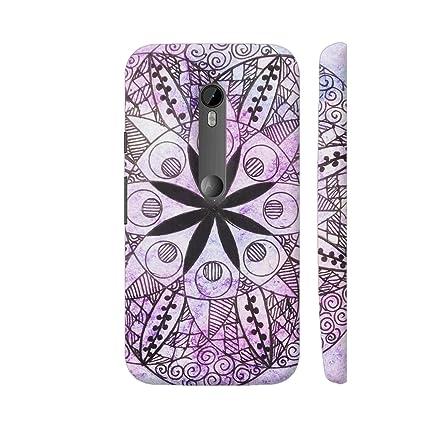 super popular 03692 1008e Colorpur Moto G3 Cover - Watercolor Mandala Case: Amazon.in: Electronics