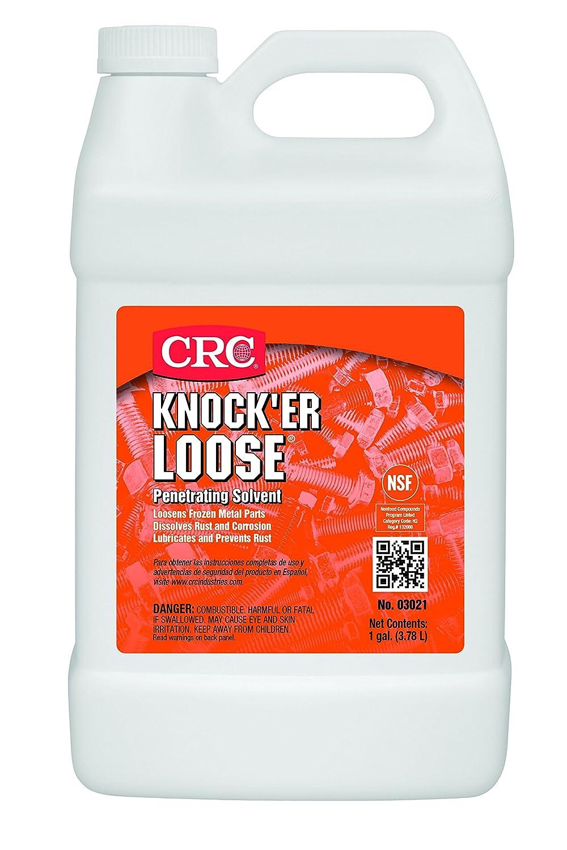 CRC Knock'er Loose Penetrating Solvent, 1 Gallon Bottle, Reddish