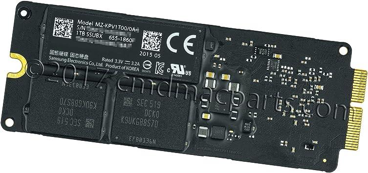 Odyson SSUBX SSD de 1 TB (PCIe 3.0 x4) Repuesto para iMac y Mac ...