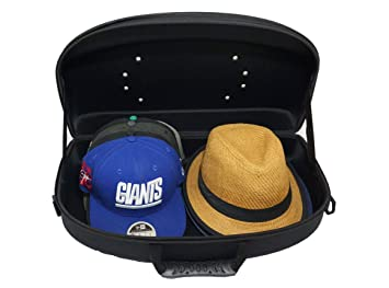 f72278bd52408 Amazon.com  Hat Carrier Cap Case Organizer for Travel and Storage ...