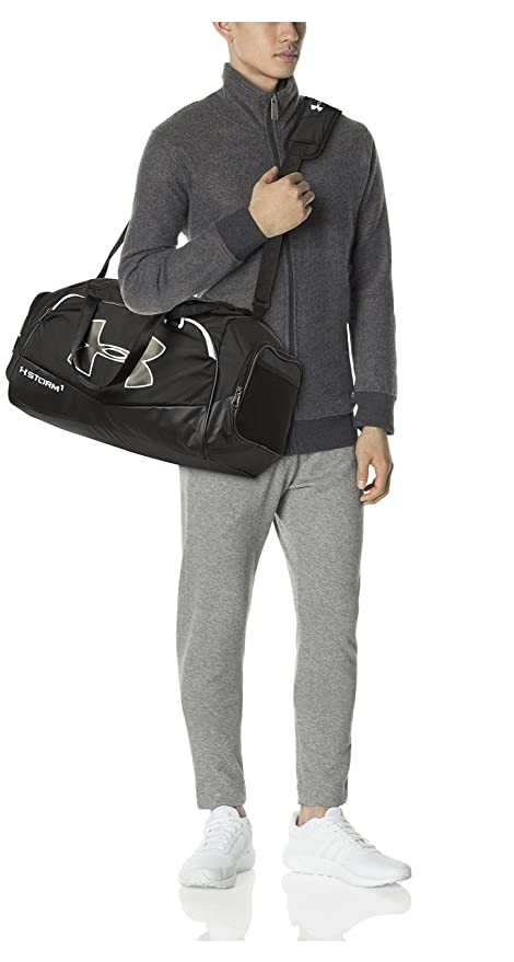 230908d4dd3 Under Armour Undeniable II Polyester Black Sports Duffel (1263969-001)   Amazon.in  Bags, Wallets   Luggage