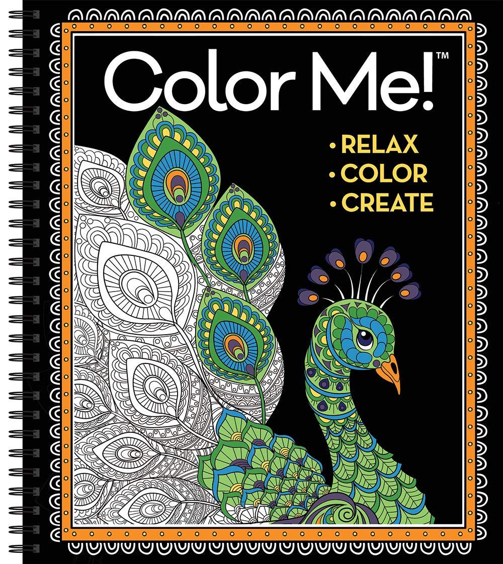 - Color Me! Adult Coloring Book: New Seasons, Publications