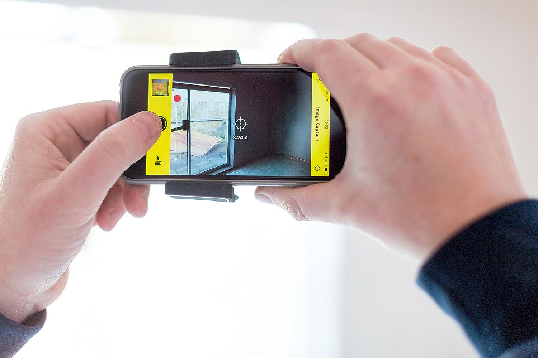 Iphone Entfernungsmesser Xxl : Stanley stht1 77366 smart measure pro lasermessgerät