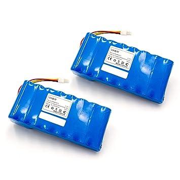 vhbw 2X Li-Ion batería 3000mAh (18V) para cortacésped Robot cortacésped Husqvarna Automower