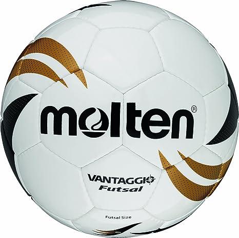 MOLTEN VGI-390B - Balón de fútbol Sala, Color Blanco, Dorado y ...