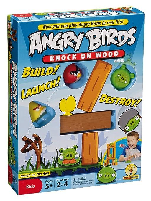 77 opinioni per Mattel Games W2793- Gioco da tavola Angry Birds- Knock On Wood