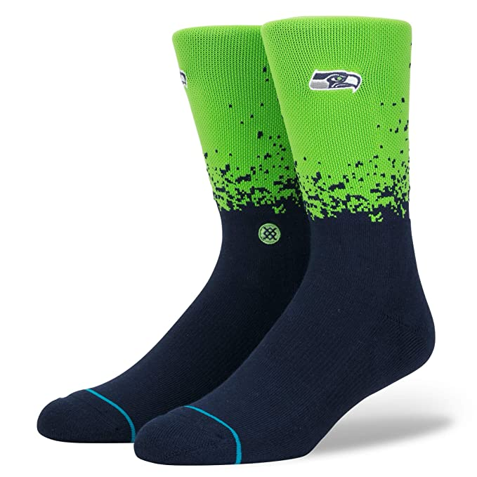 Amazon.com: Stance Seahawks Fade Luz Cojín Calcetines: Clothing