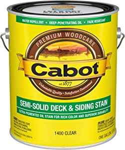 Cabot 1400 Semi-Solid Deck Stain