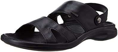 Woodland Men's Leather Sandals and Floaters Sandals & Floaters at amazon
