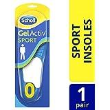 Scholl Men's Gel Activ Sport Insoles, One Size