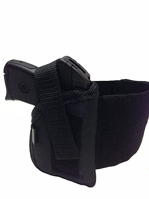 Pro-Tech Outdoors Ankle holster Fits Guns With LASER For Bersa 380, Kel-Tec  P11, P40, 9mm S&W Compact 380, Taurus Pt-22, Pt-25, Walther PPK-S, PPK,
