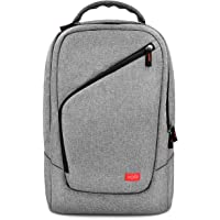 VORI Super Elite Player Backpack-Multifunction Outdoor Traveling Backpack for Nintendo Switch,Nintendo Labo Variety Kit, Joy-cons and Game Accessories/PC/Pad/e-book-Light Gray