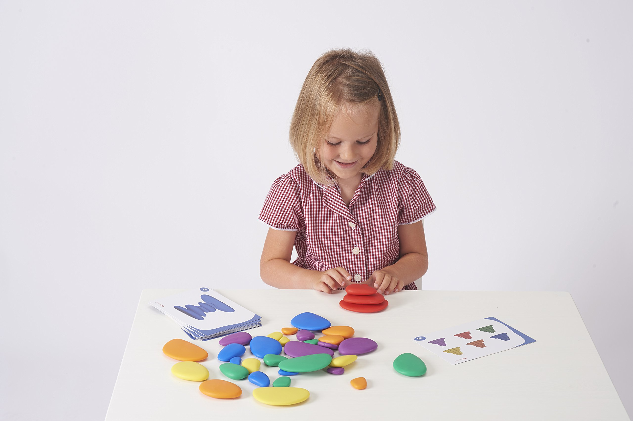 edx Education Rainbow Pebbles - Sorting and Stacking Stones by edxeducation (Image #9)