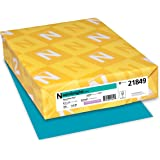 "Astrobrights Color Paper, 8.5"" x 11"", 24 lb / 89 gsm,Terrestrial Teal, 500 Sheets"