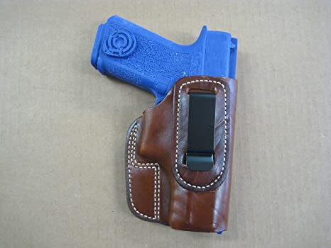 Amazon com : Polymer 80 Poly 80 IWB in The Waist Band Leather