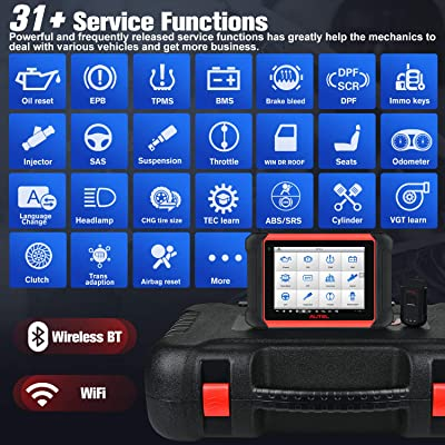 Buy Autel MaxiCOM MK906BT (Same Functions As MaxiSys MS906BT), 2021 Newest  Automotive Scan Tool with Advanced ECU Coding, Bi-Directional Control,  Active Tests, 31+ Services & Full Systems Diagnosis Online in Kazakhstan.  B08PB6DHBS