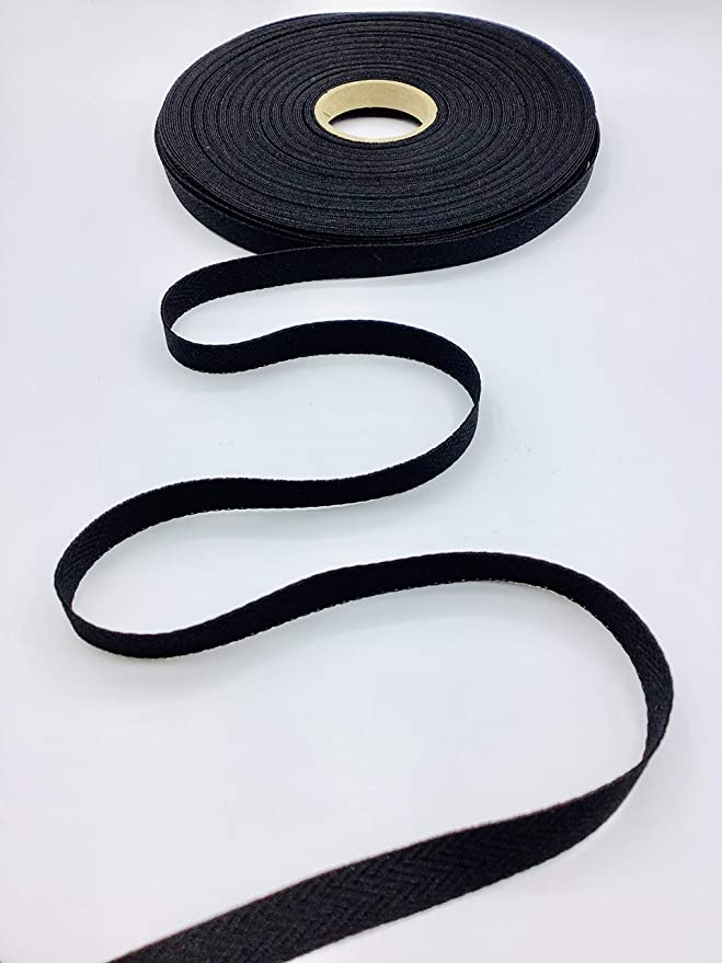 Trimplace White 3//4 100/% Polyester Twill Tape 18 Yards