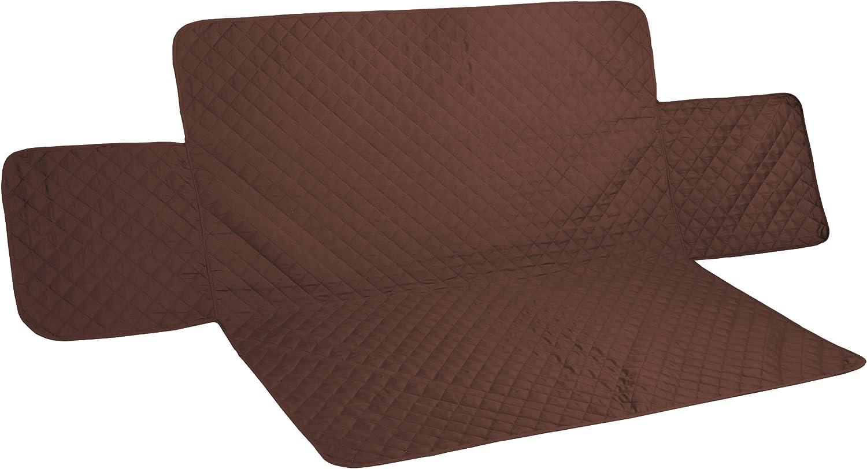 Pegasus Home Reversible Furniture Protector, Sofa, Chocolate/Tan, 75 Inch X 110 Inch