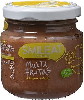 Smileat Tarrito de Multifrutas - Paquete de 12 x 130 gr - Total: 1560 gr