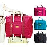 キャリーバッグの上に乗せるバッグ BAG on BAG バッグオンバッグ たっぷり収納 トラベル ビジネス 出張 (ブラック)