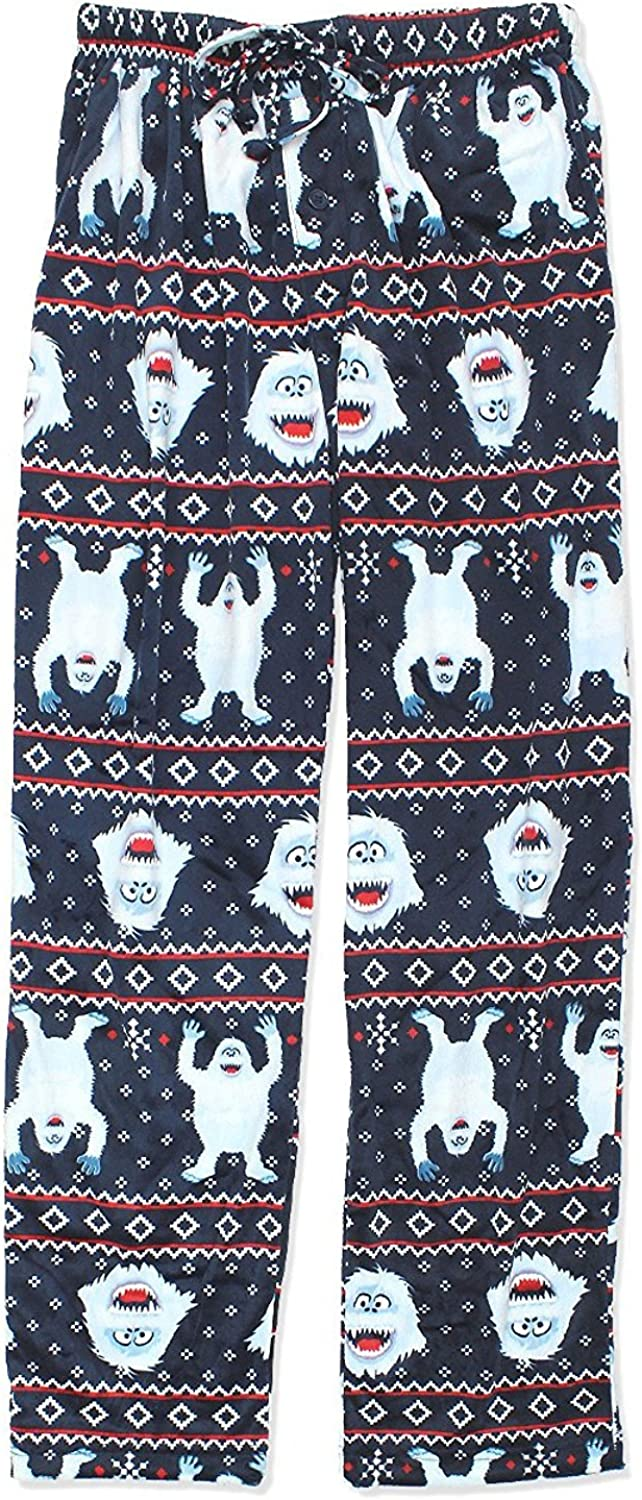 Rudolph the Red Nosed Reindeer Bumble Mens Christmas Holiday Lounge Pants