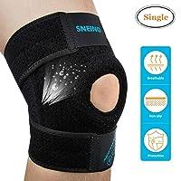 SNEINO Knee Braces for Women,Knee Braces for Men&Kids Knee Brace Adjustable Open...